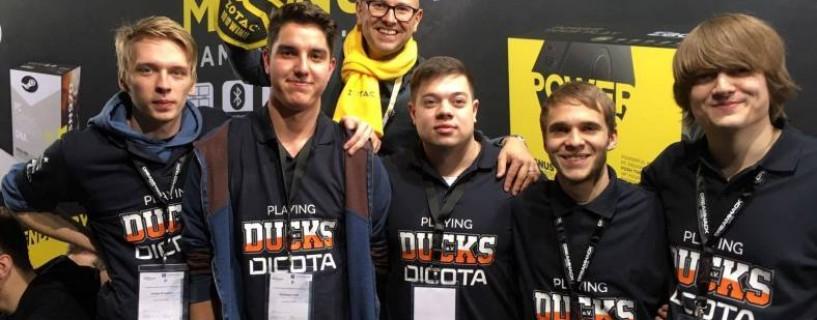 Ducks gewinnen Dreamhack 2016