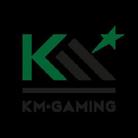 KMGAMING Logo Black Color