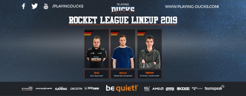 Startet die Motoren: Playing Ducks mit Rocket League Team